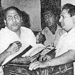 Mohd Rafi with Shankar