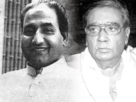 Mohd Rafi and Prakash Mehra