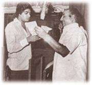 Rafi with Amit Kumar