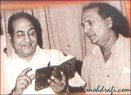 Rafi with Jaikishen