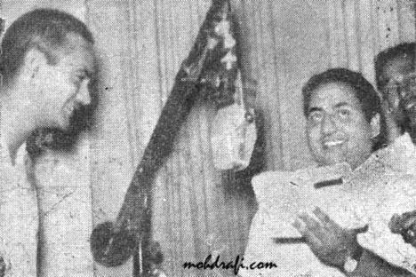 Mohd Rafi and O.P.Nayyar