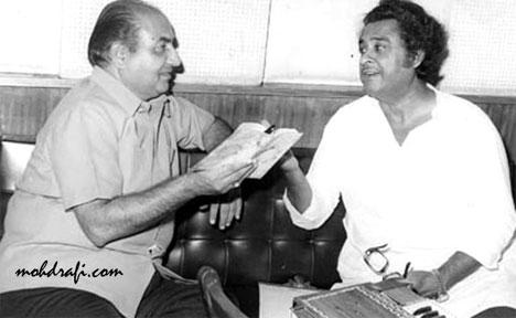 Mohd Rafi and Kishore Kumar