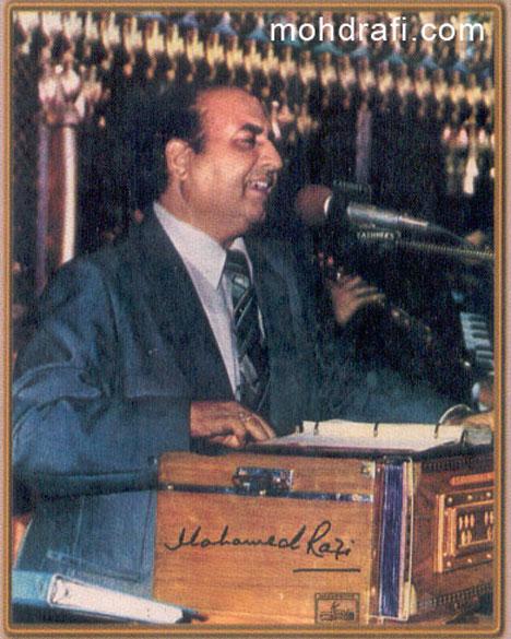 Rafi performing live