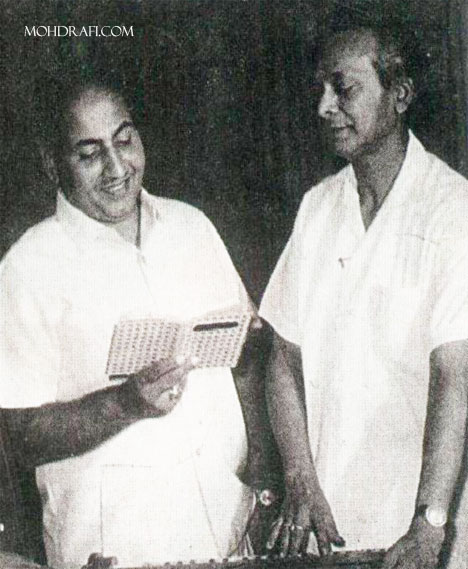 Mohd Rafi and Naushad