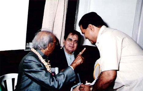 Naushad and Dilip Kumar