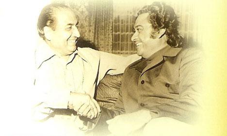 Mohd Rafi and Kishore Da