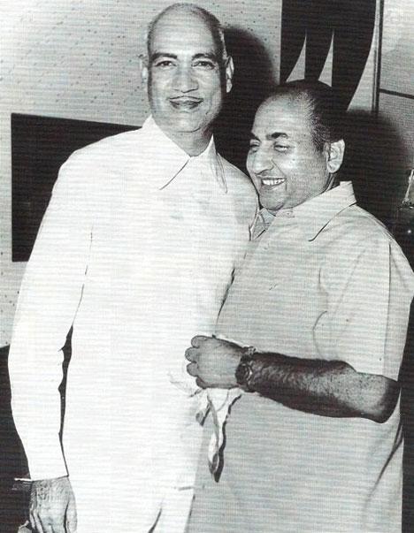 O.P.Nayyar and Mohd Rafi