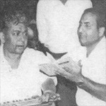 Mohd Rafi with Chitragupt