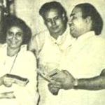 Mohd Rafi with Suman and Hasrat