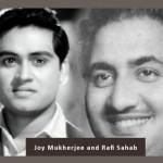 Joy Mukherjee and Mohd Rafi