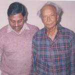 Naushad Sahib with Mehtab-Ud-Din