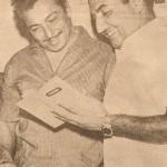 Mohd Rafi with Madan Mohan