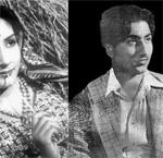 Mohd Rafi and Lalita Deulkar
