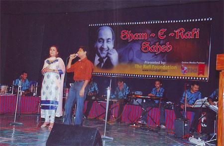 Star Singer Anil Bajpai with Kya Huwa Tera Vada singer Sushma Shreshta