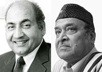 Mohd Rafi Sahab and Dr. Bhupen Hazarika