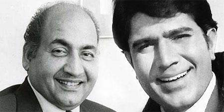 Mohd Rafi Sahab and Rakesh Khanna