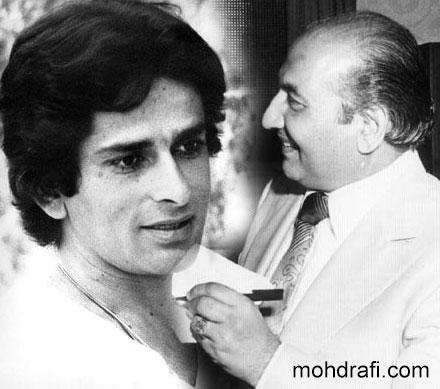 Shashi Kapoor and Mohd Rafi