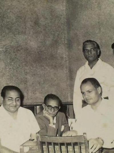 Mohd Rafi Sahab with team
