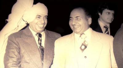 Mohd Rafi and Mahendra Kapoor