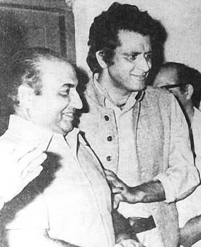 Mohd Rafi and Manoj Kumar