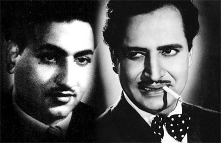 Mohd Rafi and Pran