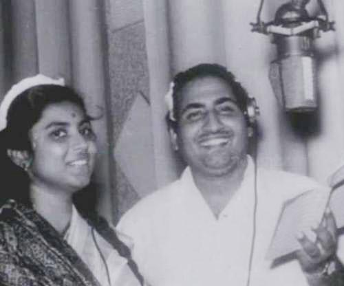Mohd Rafi and Suman Kalyanpur
