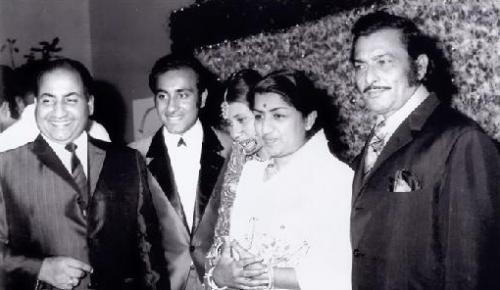 Mohd Rafi, Lata Mangeshkar, Madan Mohan