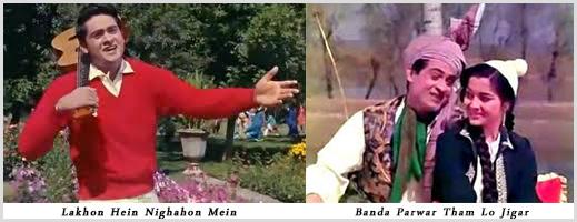 Lakhon Hain Nigahon Mein and Banda Parwar Tham Loo Jigar