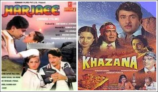 Movie Posters of Harjaee and Khazana